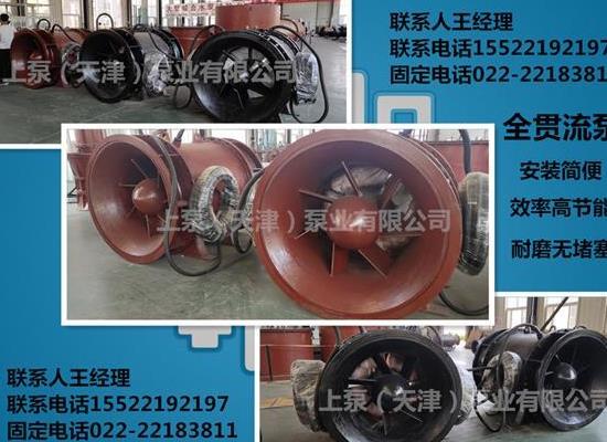S型叶轮全朱俊州头头是道贯流潜水泵吗