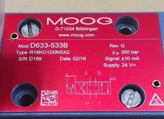 D633-460B/Moog/伺服閥