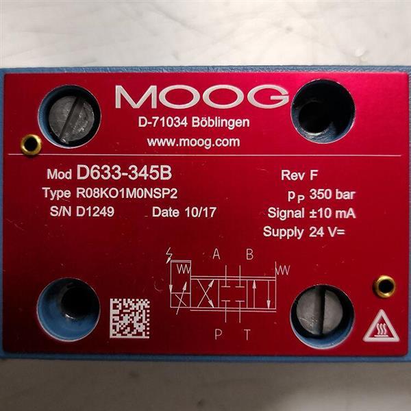 D633-345B/Moog/伺服阀