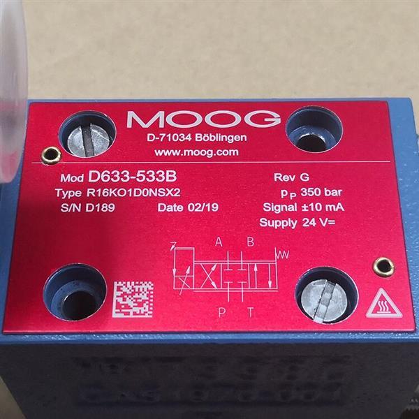 D633-533B/Moog/伺服閥