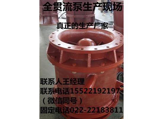 福建福州全贯流潜水泵大流量排水泵