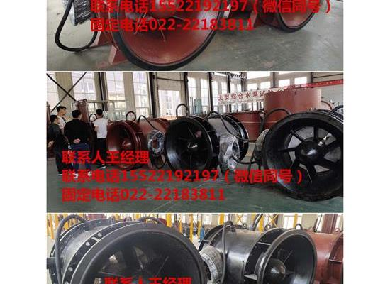 福建三明大流量排水泵QGWZ贯流泵