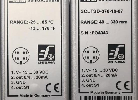 SCLTSD-370-10-07/Parker/傳感器/原裝