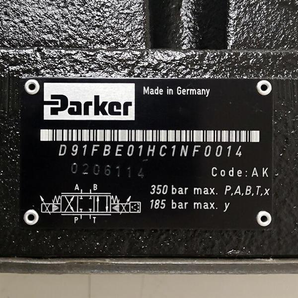 D3FBE01SC0NF0019/Parker派克/比例阀