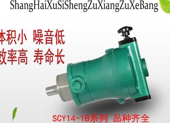 上海旭思盛轴向柱塞泵 10SCY14-1B轴向柱塞泵 高压油