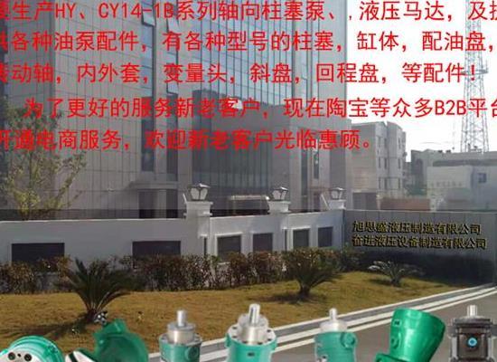 旭思盛 YCY14-1B 轴向柱泵 高压油泵 柱塞泵