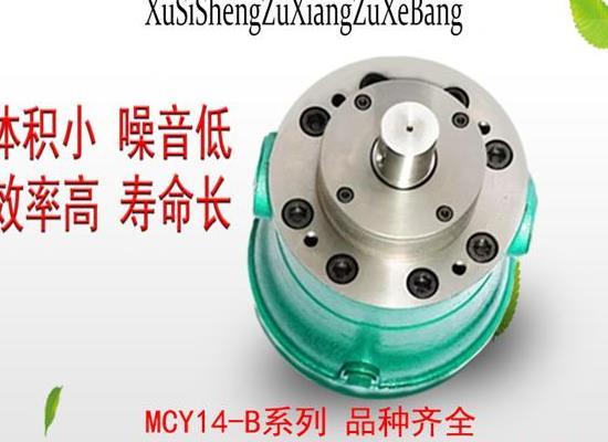 旭思盛 2.5MCY14-1B轴向柱塞泵 高压油泵 柱塞泵