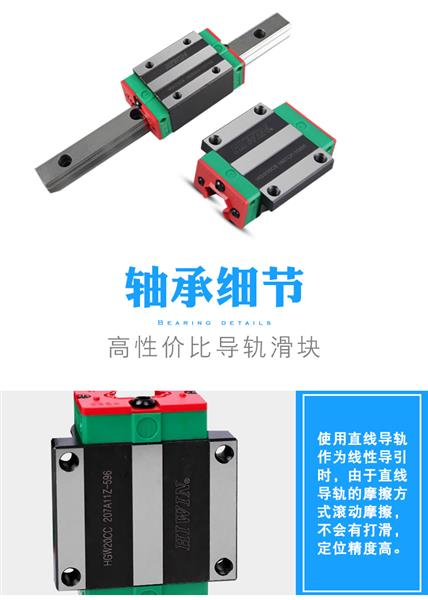 HIWIN滑块 上海赵人机电有限公司上银滑块新品出货一件包邮