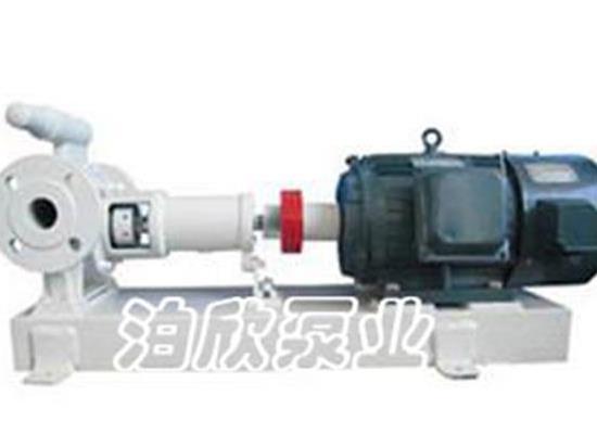 高粘度泵的性能说明