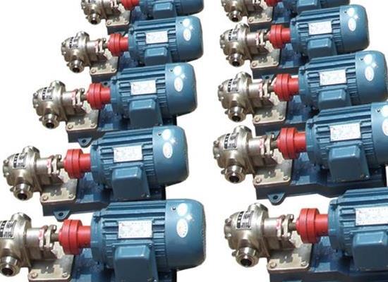 KCB型齿轮泵日常维护运行管理