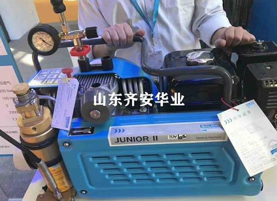 青島潛水俱樂部專用寶華空氣壓縮機JUNIOR II