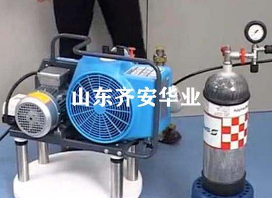 山東消防隊專用JUNIOR II-E寶華充氣泵呼吸器充氣專用