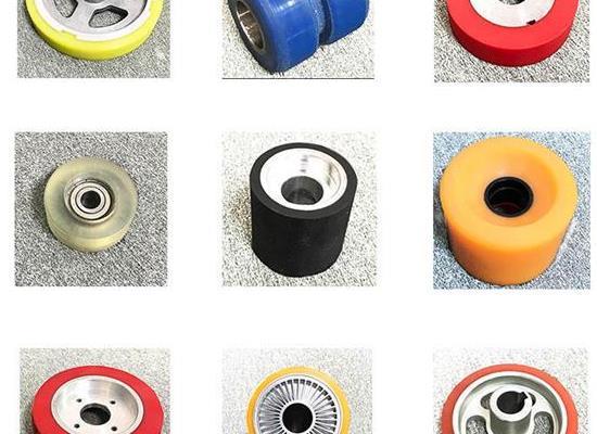 聚氨酯軸承包膠,軸承包耐磨聚氨酯,PU軸承包膠定制生產廠家江