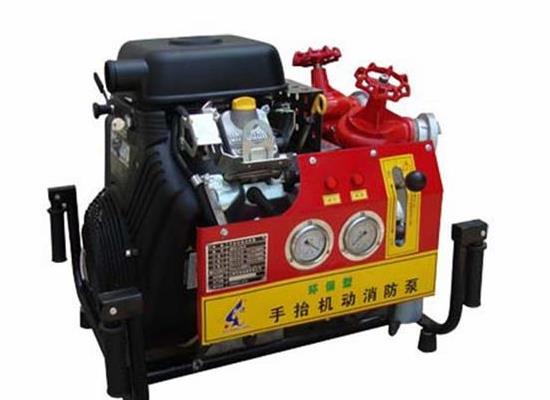 BJ18-C柴油机手抬消防泵(25HP)
