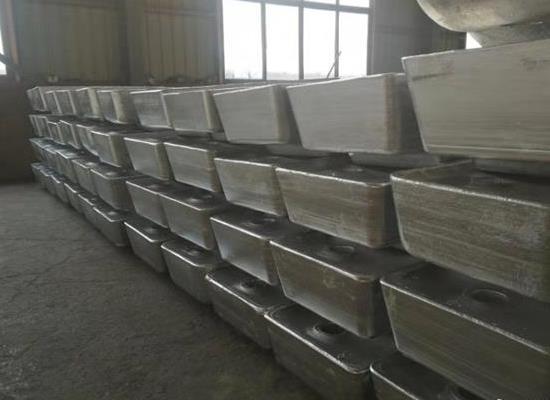 55%铝锌硅合金锭及铝锌硅稀土合金锭