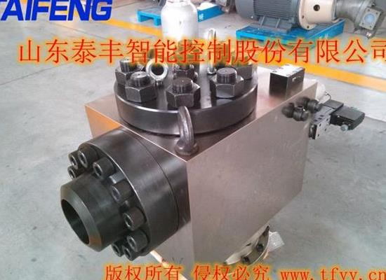 泰丰液压二通插装阀天津双泵500T系统