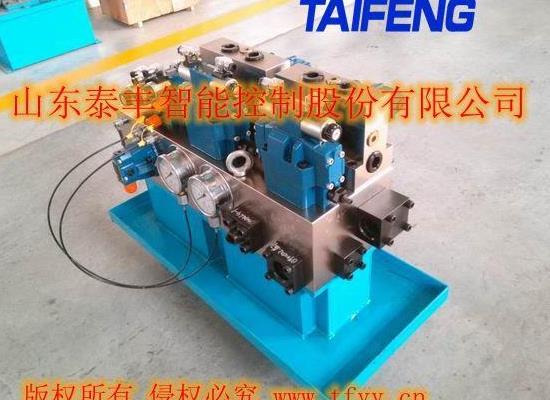 山东泰丰二通插装阀标准500T主缸系统