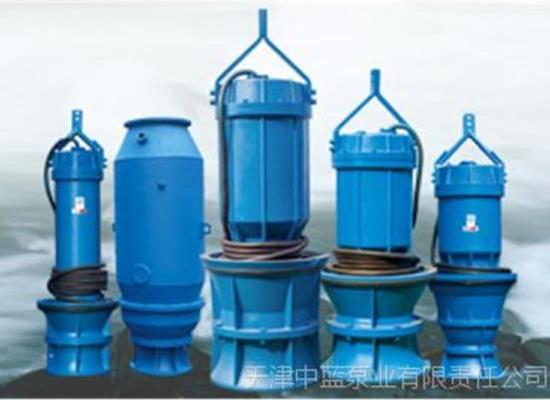 排水量大的潛水軸流泵