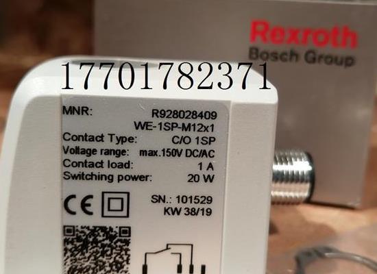 WE-1SP-M12X1力士乐Rexroth压力传感器发讯器