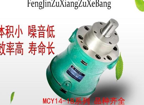 奮進軸向柱塞泵 10MCY14-1B軸向柱塞泵 高壓油泵
