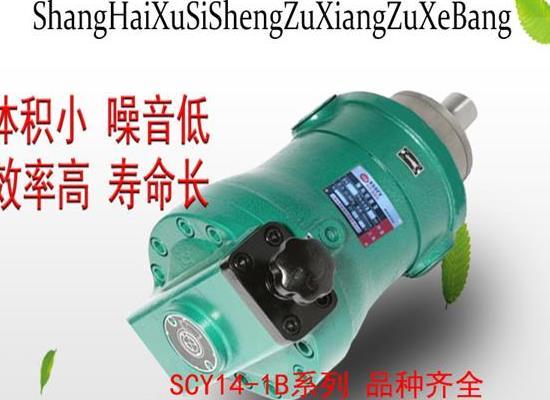 上海旭思盛軸向柱塞泵 10SCY14-1B軸向柱塞泵 高壓油