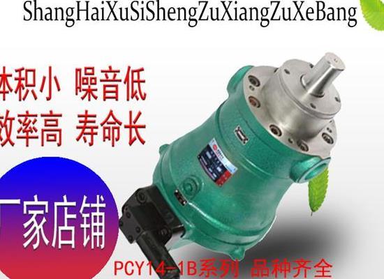 上海旭思盛軸向柱塞泵 10PCY14-1B軸向柱塞泵 高壓油