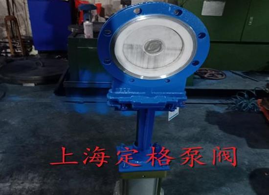 PZ673TC-10C 氣動陶瓷刀閘閥 耐磨排渣閥