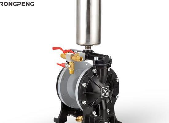 榮鵬隔膜泵A15氣動油漆泵大流量氣動噴漆泵