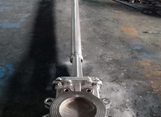 PZ73W-10P 加長桿刀閘閥 不銹鋼刀閘閥