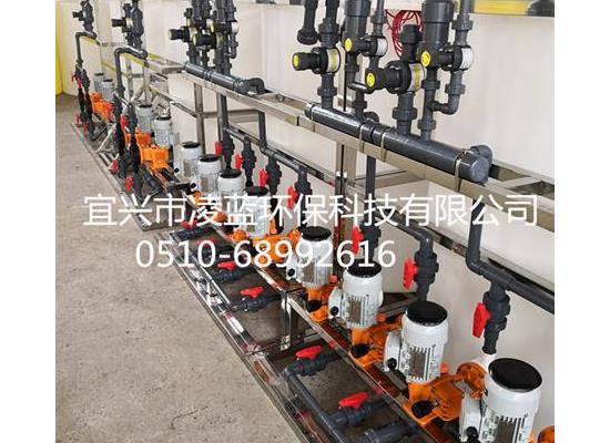 一站式環保設備供貨商 直銷一體化全自動加藥裝置 水處理加藥