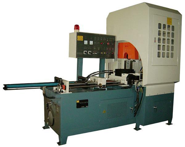鋁棒自動切割機 全自動油壓鋁材切割機