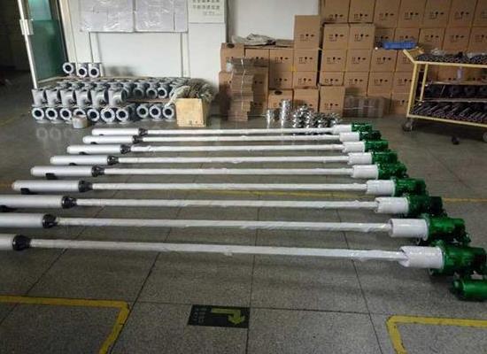 绿牌防爆化工潜液泵,不锈钢新型液下泵,防爆液下泵,长轴液下泵