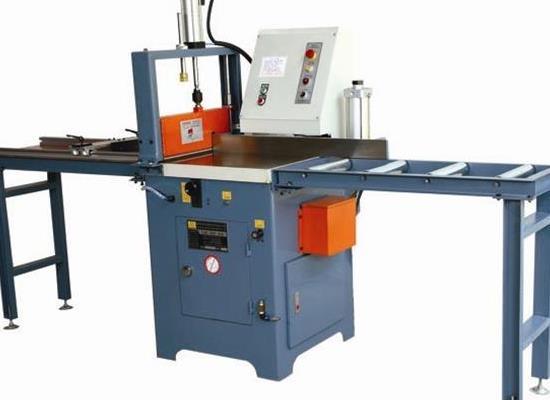 快速切鋁機 鋁材開料機 455半自動鋁銅鋸料機
