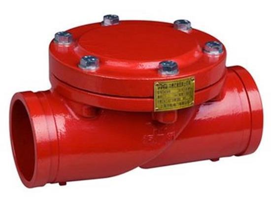上海靜一DN150溝槽橡膠瓣止回閥,值得新的托付