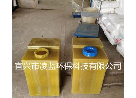 PE方形加藥桶KC-100LPAM溶藥罐圓形加藥箱方形加藥桶
