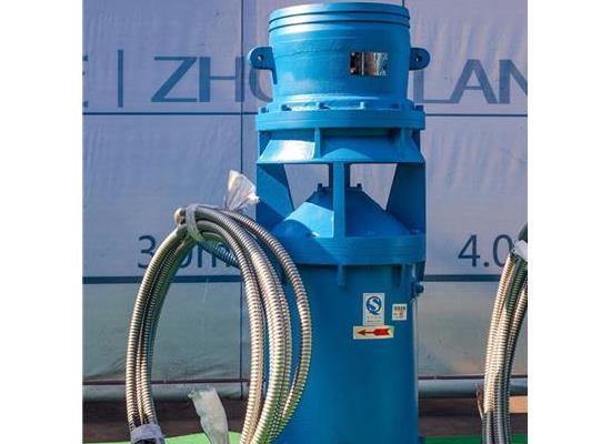便捷式中吸軸流泵