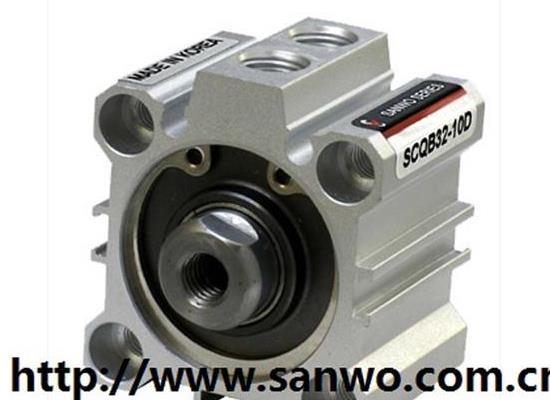 韓國SANWO三和薄型氣缸 SCQ2B12-5D