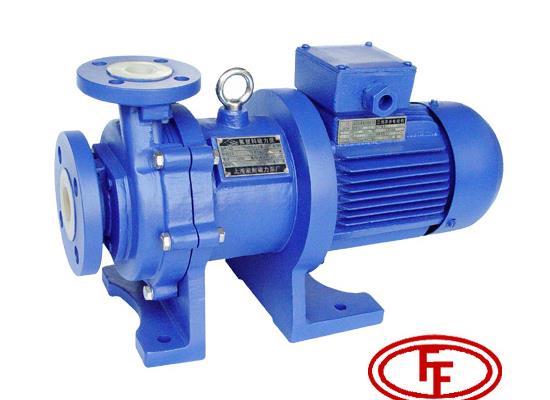 CQB50-40-125F型氟塑料磁力泵