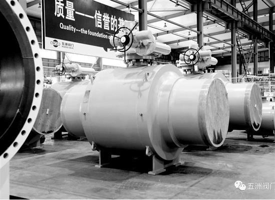 五洲阀门助力深圳LNG连通线与中石油西气东输管线全线连通!