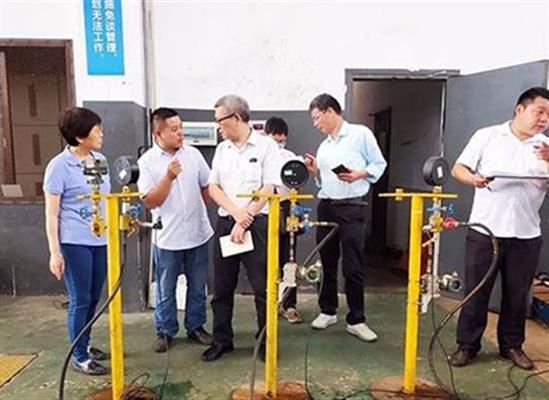 长沙佳能泵业联合湖南各大高校助力百色项目阀门模拟实验