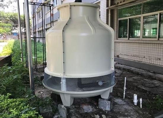 东莞冷却塔厂家直销30T圆形玻璃钢冷却塔,大岭山30T冷却塔