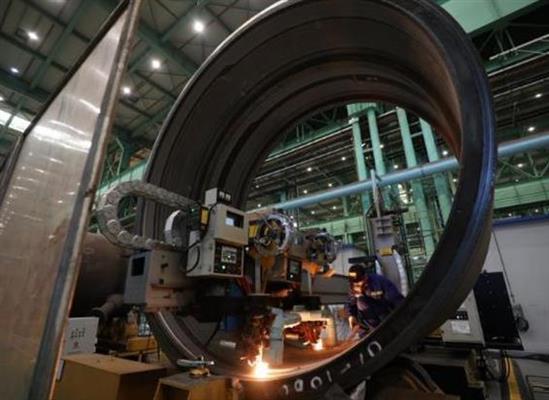 全球首台3000吨超级浆态床锻焊加氢反应器问世!刷新世界纪录