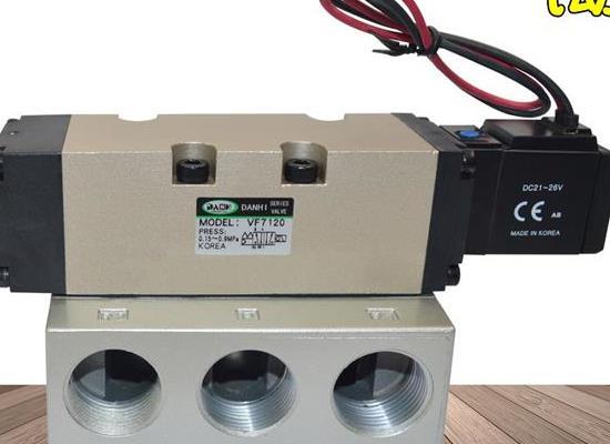 VF7120二位五通气动电磁阀SANWO三和电磁阀换向气阀
