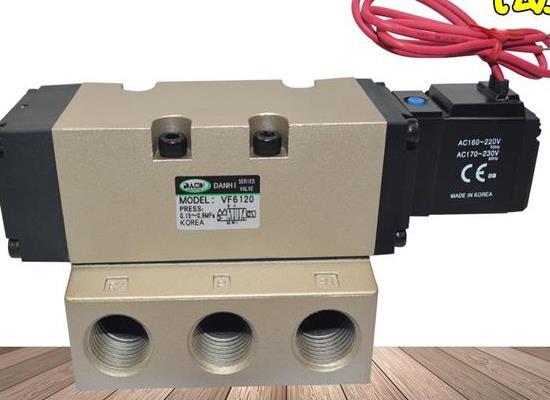 韓國DANHI丹海VF6120先導式2位5通氣缸電磁閥YSC