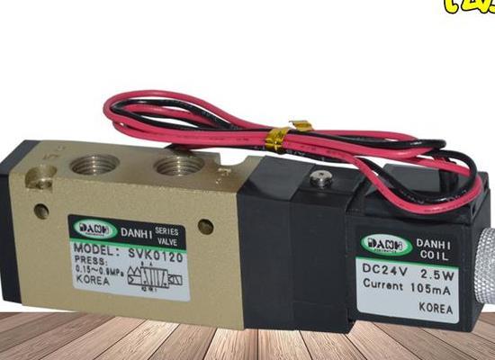 韩国DANHI丹海SVK0120旋转式喷浆机电磁阀皮革机控制