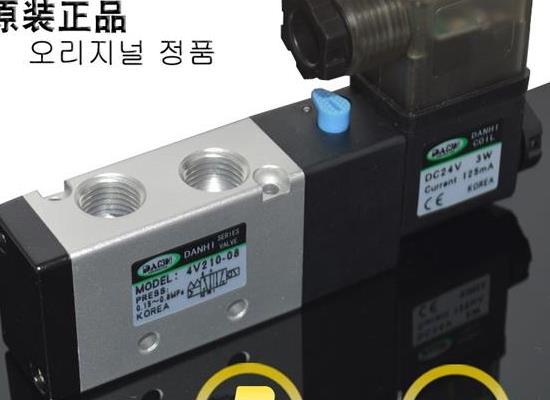 韩国DANHI丹海AIRTAC4V210-08电磁阀亚德客克