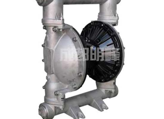 QBY/QBK-40型不锈钢304/316气动隔膜泵 气动隔