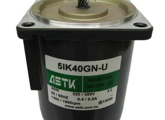 三相电机5IK40GN-U减速机5GN-180K批发ASTK