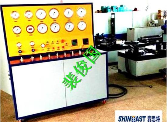 申请FD1安全阀校验站资质的安全阀校核试验装置