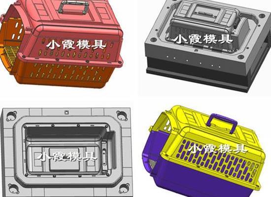 台州模具供应 托运箱注塑模具